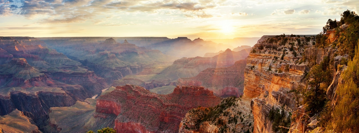 Gorgeous view of the Grand Canyon